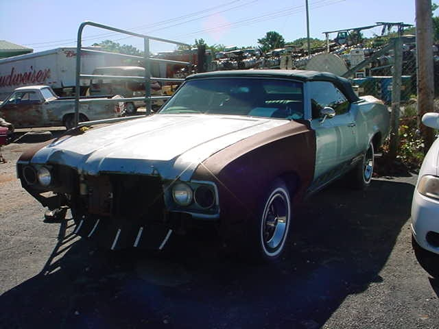 1970 Olds Cutlass Convertible